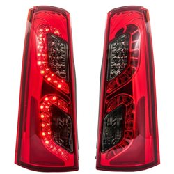 TOYOTA AVANZA 2006 - 2011 EAGLE EYES Red/ Smoke LED Tail Lamp [TL-191]