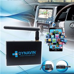 DYNAVIN 3 in 1 Android & APPLE IOS WIFI Wireless Mirror Link with HDMI, USB, MP4, MP3, AVI, MKV, 3GP Reader [AU-DVN/ ML]