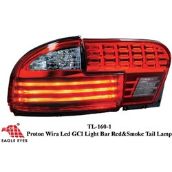 PROTON WIRA 1993 - 2006 EAGLE EYES GCI Light Bar Red Smoke Tail Lamp [TL-160-1]