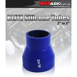 """BLITZ 1.25"""" To 1.75"""" 3 Layer Racing Silicone Straight Reducer Tubes"""