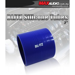 "BLITZ 2.5"" Inch 3 Layer Racing Silicone Straight Coupler Tubes"