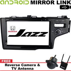 "HONDA JAZZ, FIT GK 2014 - 2017 9"" DVD MP3 CD USB SD BLUETOOTH TV Player with GPS Navigation Free Canon Rear Camera & TV Antenna"