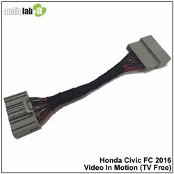 HONDA CIVIC FC 2016 - 2017 AUDIOLAB Video In Motion VIM TV Free Plug and Play Socket [AL-161]