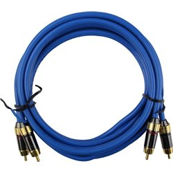 *PROMOTION* MAXAUDIO 2 Meter 24K Gold Plated Car/ Home HIFI/ Home Theather Amplifier RCA Cable