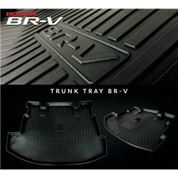 HONDA BRV (Large) ORIGINAL ABS Rubber Anti Non Slip Rear Trunk Boot Cargo Tray