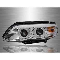 BMW X5(E53) 2004 - 2006 Projector DRL Look Head Lamp [HL-031-BMW]