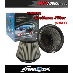 "ORIGINAL SIMOTA 3"" Fully Stainless Steel Urethane Racing Open Port Air Filter"