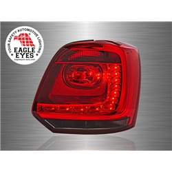 VOLKSWAGEN POLO MK5 2009 - 2017 EAGLE EYES Red Smoke LED Tail Lamp [TL-196-2]