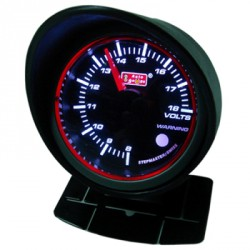 AUTOGAUGE 60mm Super White LED Angel Ring (Black Face) RPM Tachometer[653]