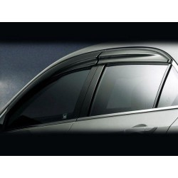 PROTON SAGA BLM SE FL FLX 2008 - 2014 Mugen Style Premium Quality Anti UV Light Door Visor (KS1)