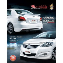 TOYOTA VIOS] EAGLE EYES Projector Head Lamp + LED Light Bar Tail Lamp