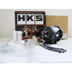 ORIGINAL GRADE! HKS JAPAN SSQV IV 4 Super Sequential Limited Black Edition Blow Off Valve BOV (Can support high Boost up to 600B