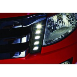 FORD RANGER T6 2011 - 2015 3 in 1 LED Day Time Running Light DRL + Auto Dimmer + Auto On 1