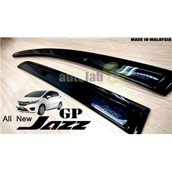 HONDA JAZZ 2014 - 2015 Mugen Design Premium UV Door Sun Visor (KS1)