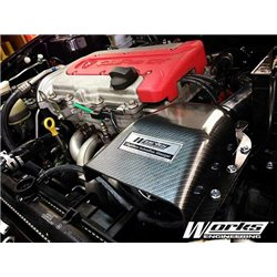 PROTON SATRIA NEO/ GEN2 CAMPRO, CPS, R3 SIMOTA AERO FORM II Carbon Fiber Air Filter Intake System with Full Piping [PTS-953]