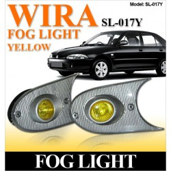 PROTON WIRA/ SATRIA/ PUTRA Front Bumper Projector Rally Yellow Fog Light/ Lamp Per Pair [SL-017Y]