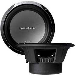 "ROCKFORD FOSGATE P1 Series P1S412 12"" 300W Subwoofer - 2 Unit"